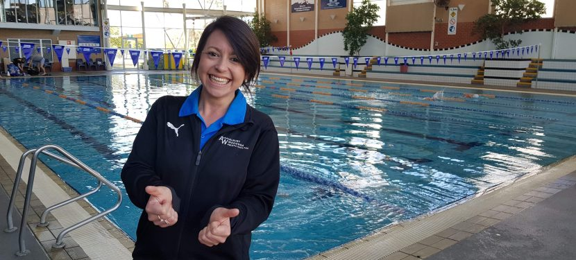 Introducing the Albury Wodonga Aquatic's facilities Leisure Manager – Rachel Engelhardt