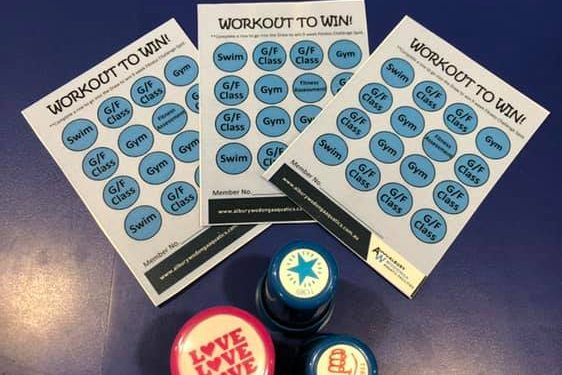 Workout to Win winners!
